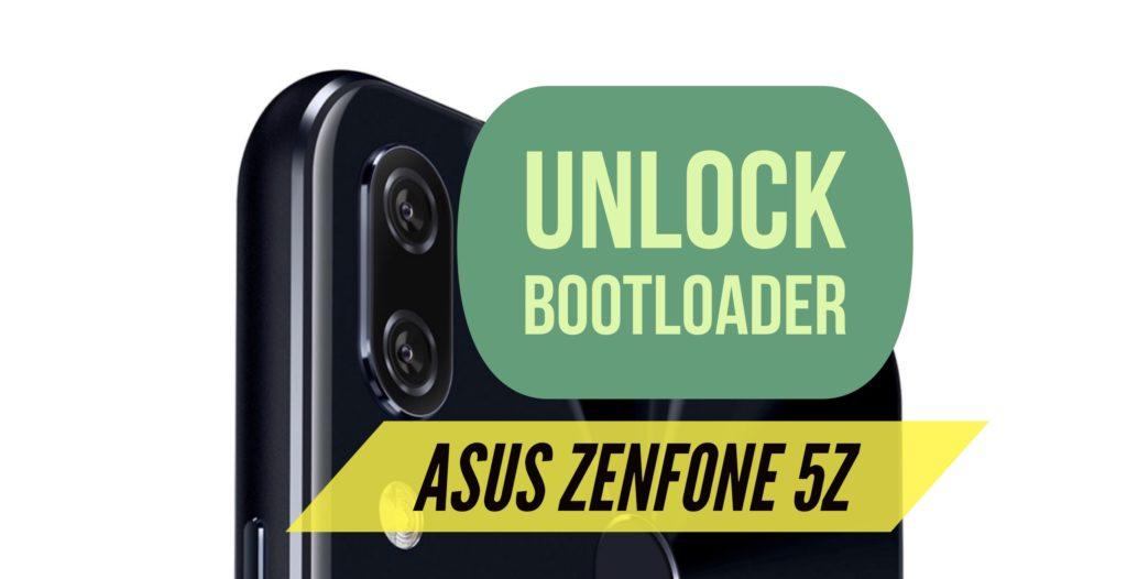 Unlock Bootloader ASUS Zenfone 5Z
