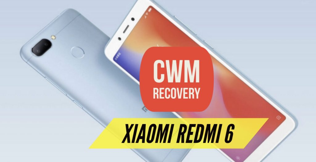 CWM Xiaomi Redmi 6