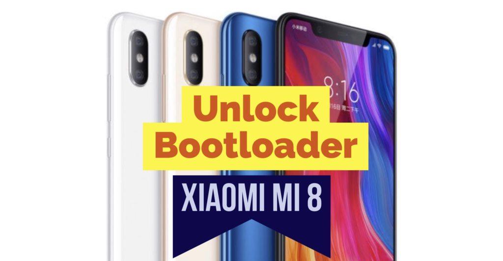 Xiaomi Mi 8 Unlock Bootloader