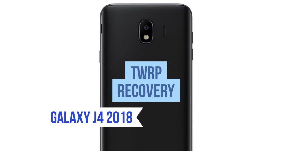 TWRP Galaxy J4