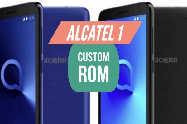 Custom ROM Alcatel 1