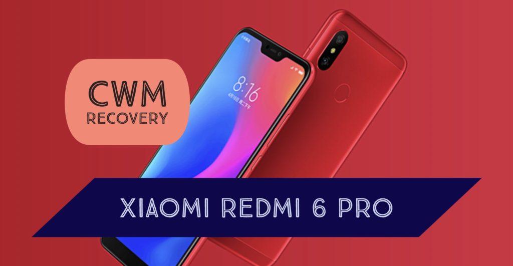 CWM Xiaomi Redmi 6 Pro