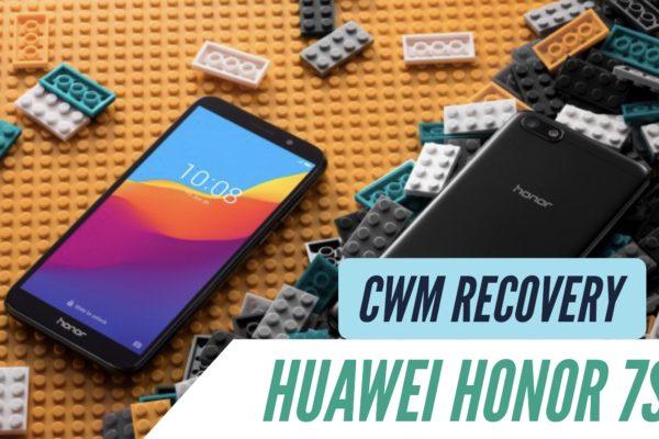 CWM Huawei Honor 7S