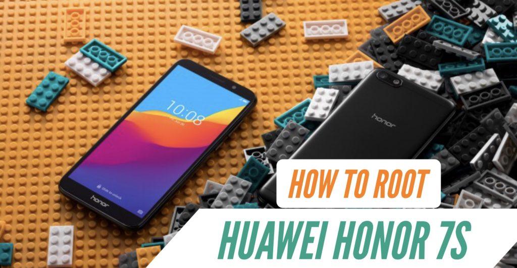 Root Huawei Honor 7S SuperSU Magisk