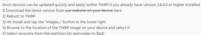 TWRP Max Pro M1