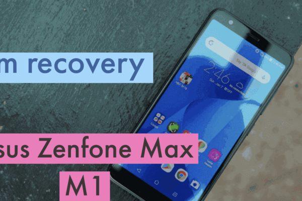 CWM Asus Zenfone Max (M1)