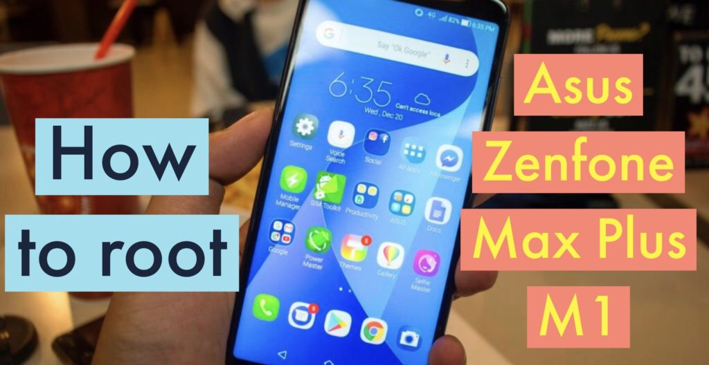 Root ASUS Zenfone Max Plus M1 SuperSU Magisk