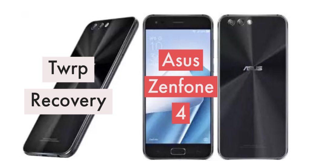 TWRP Asus Zenfone 4