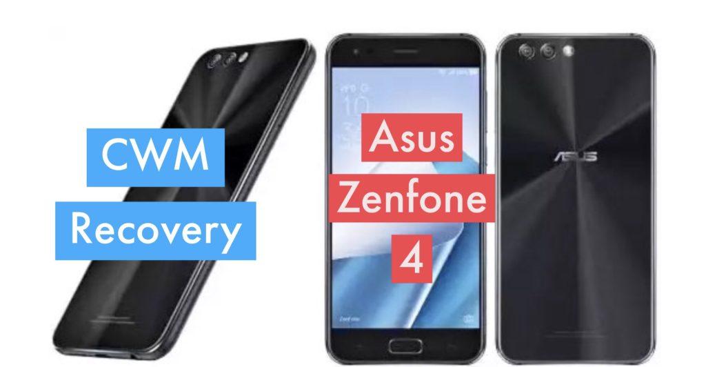 CWM Asus Zenfone 4
