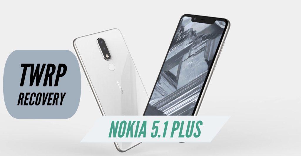 TWRP Nokia 5.1 Plus