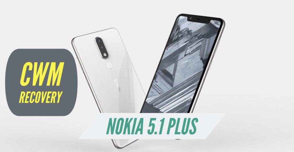 CWM Nokia 5.1 Plus