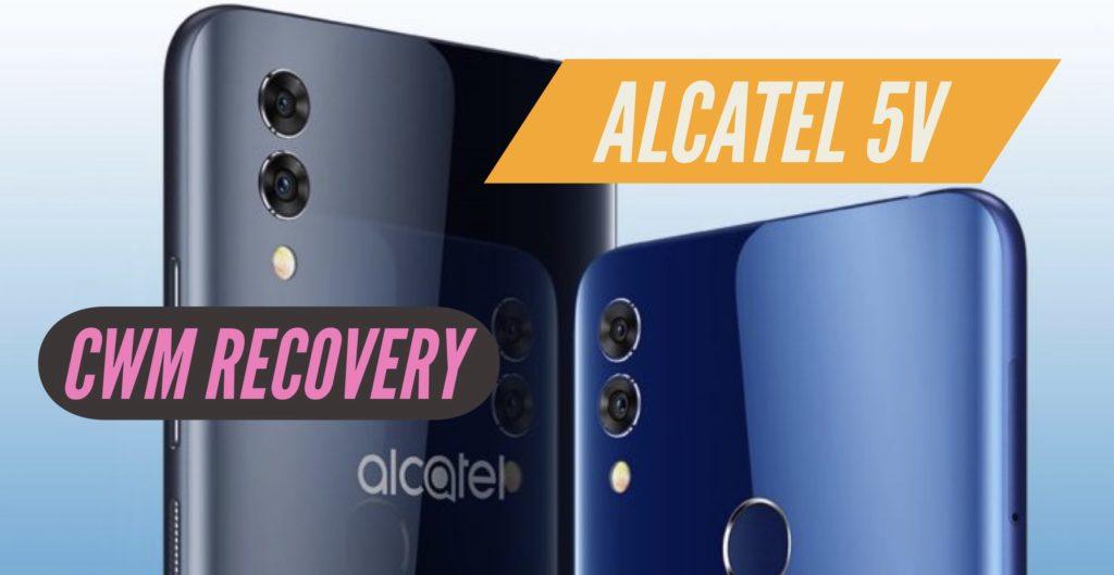 CWM Alcatel 5V