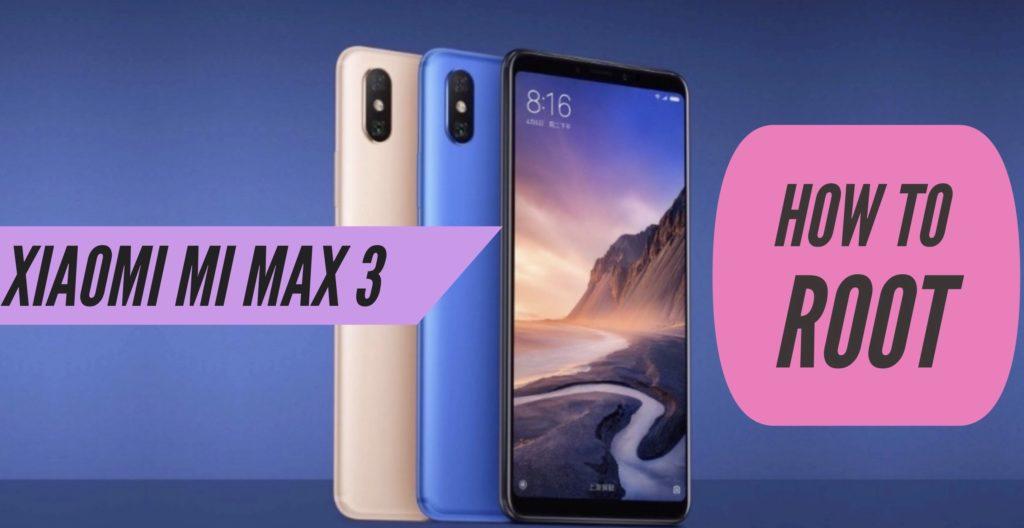 Root Xiaomi Mi Max 3 SuperSU Magisk