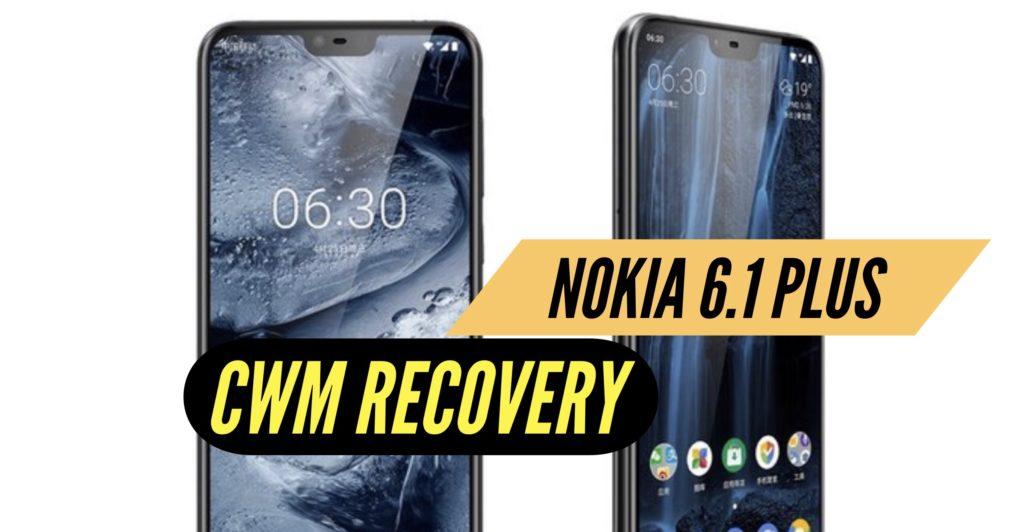 CWM Nokia 6.1 Plus