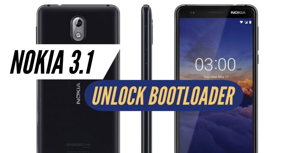 Unlock Bootloader Nokia 3.1