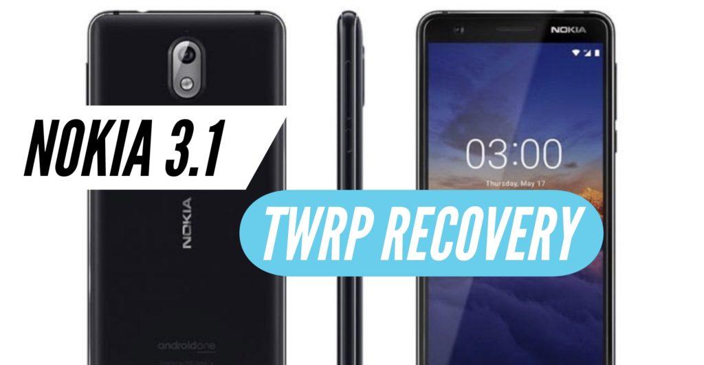 TWRP Nokia 3.1