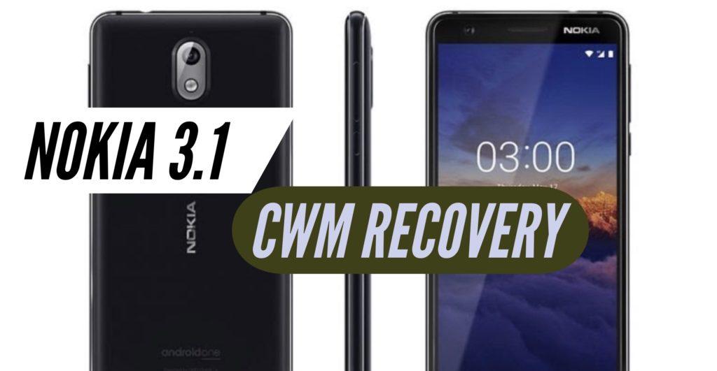 CWM Nokia 3.1