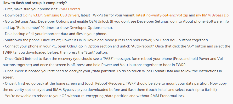 Unofficial TWRP Recovery for J6 & On6