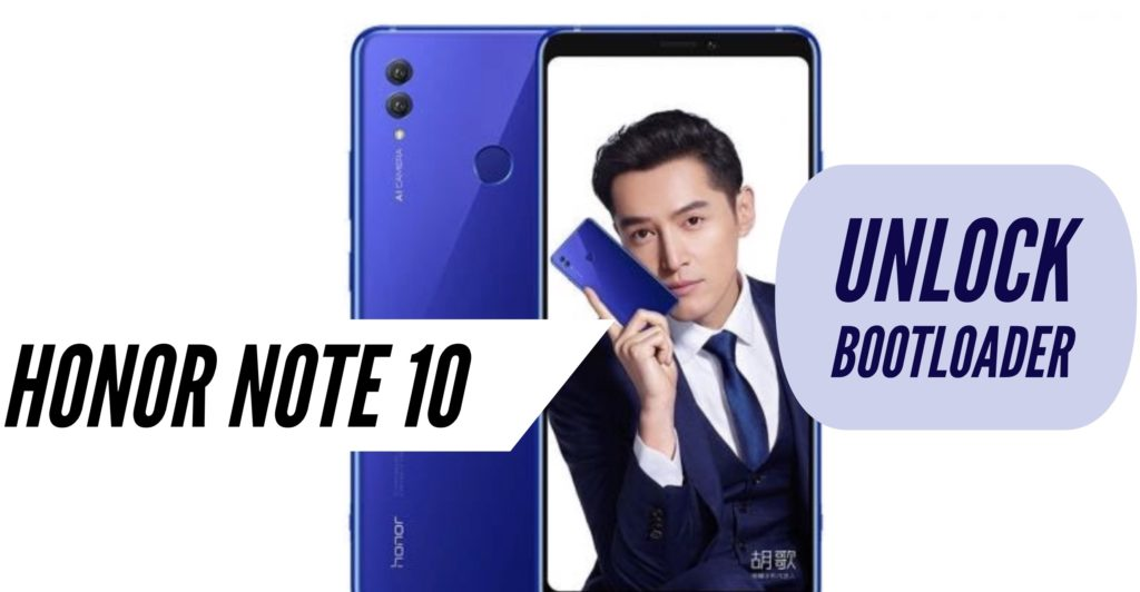 Unlock Bootloader Honor Note 10