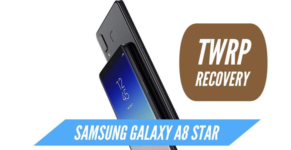 TWRP Samsung Galaxy A8 Star