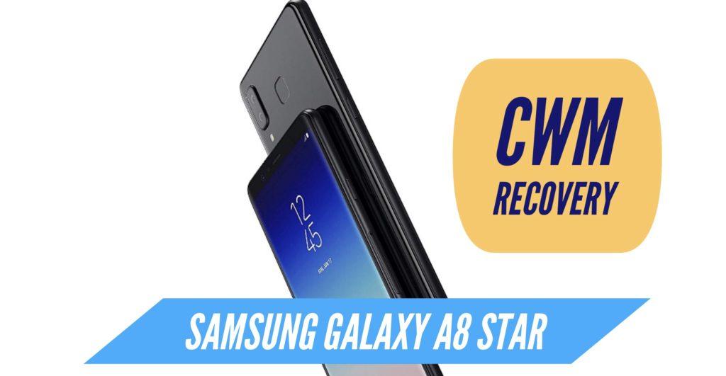 CWM Samsung Galaxy A8 Star