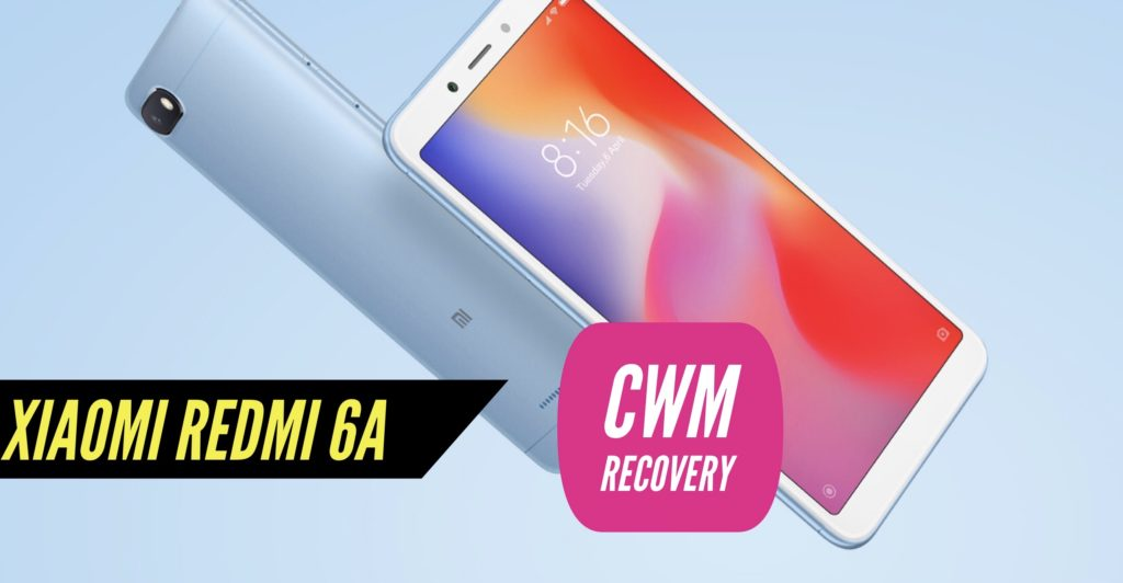 CWM Xiaomi Redmi 6A