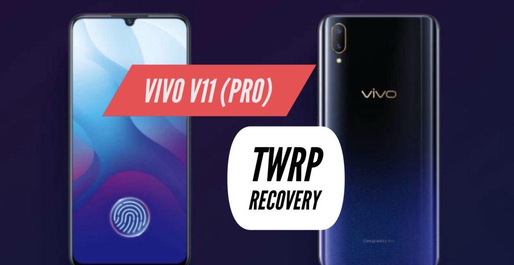TWRP VIVO V11 PRO