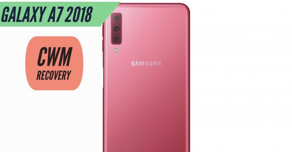 CWM Samsung Galaxy A7 2018