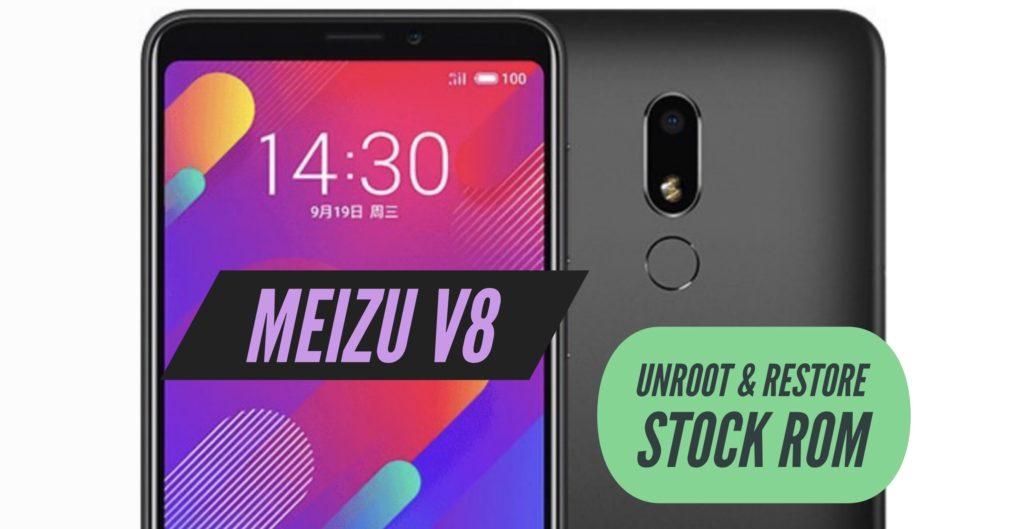 Unroot Meizu V8 Restore Stock ROM