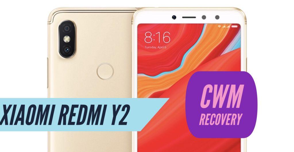 CWM Xiaomi Redmi Y2