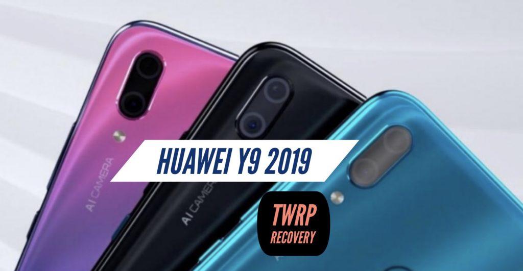 TWRP Huawei Y9 2019