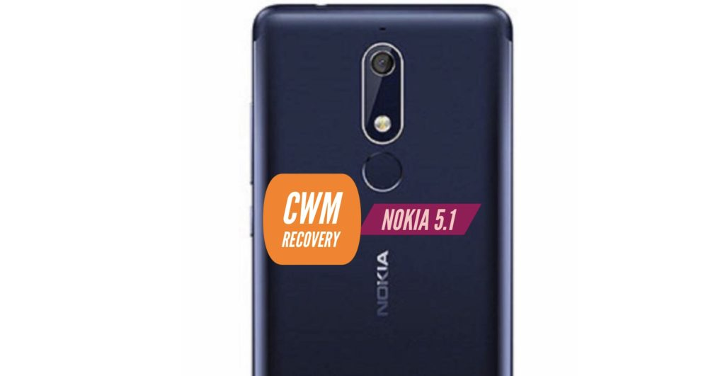 CWM Nokia 5.1