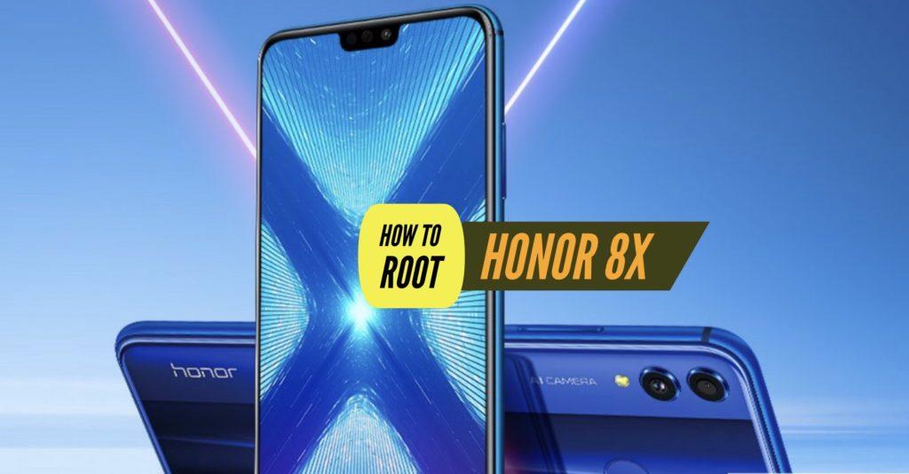 Root Honor 8X SUperSU Magisk