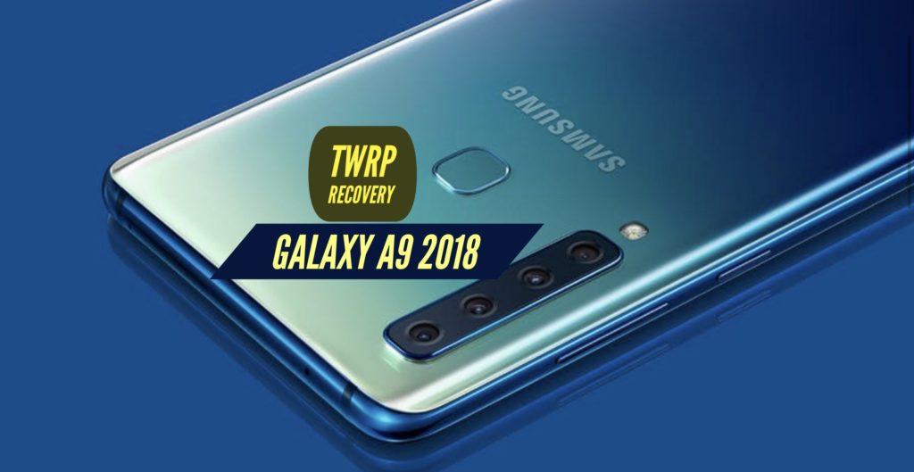 TWRP Galaxy A9 2018