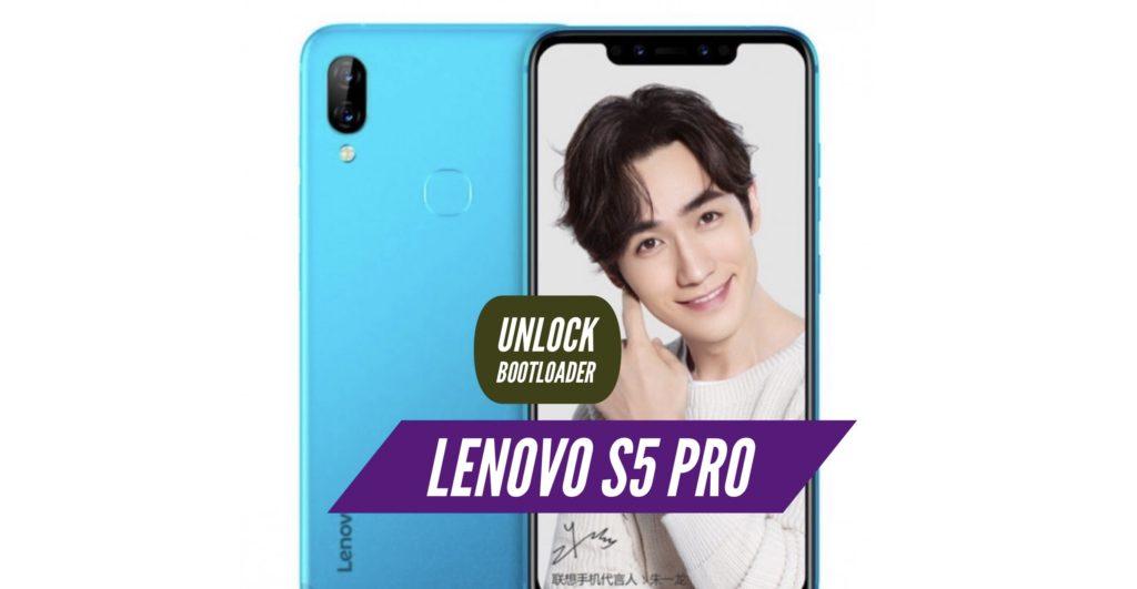 Unlock Bootloader Lenovo S5 Pro