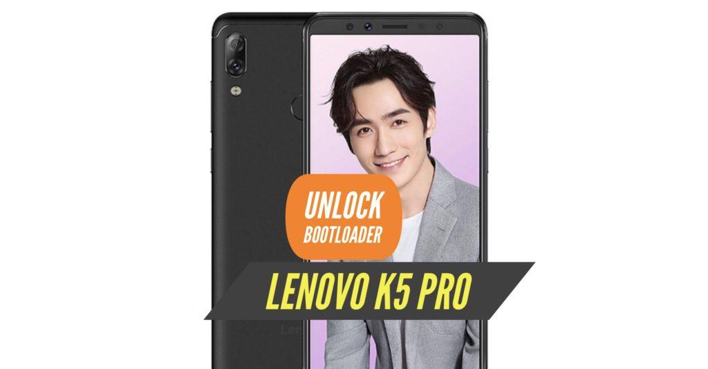 Unlock Bootloader Lenovo K5 Pro