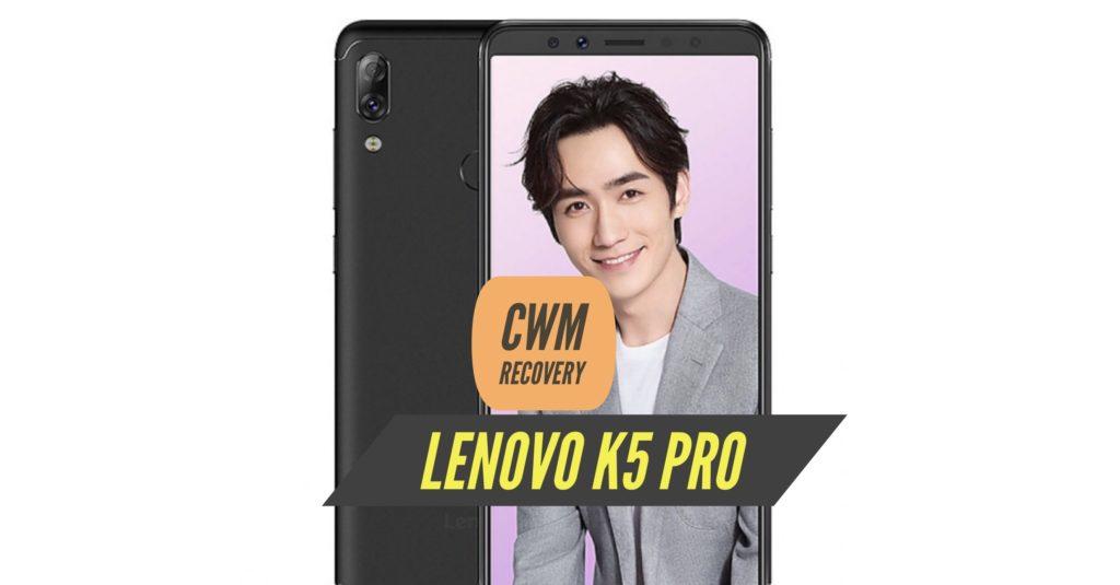 CWM Lenovo K5 Pro