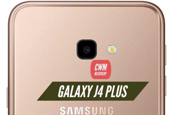 CWM Galaxy j4 Plus