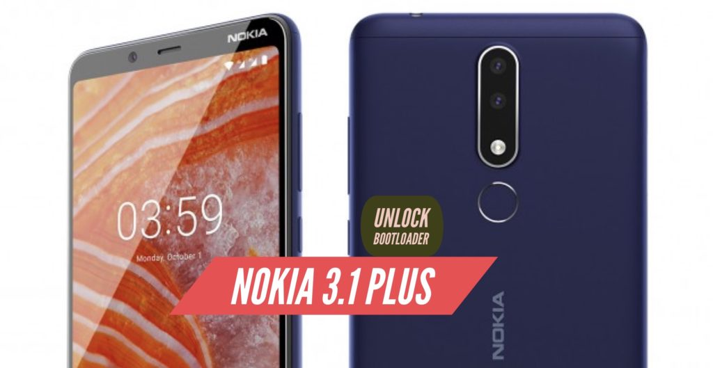 Unlock Bootloader Nokia 3.1 Plus