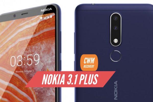CWM Nokia 3.1 Plus