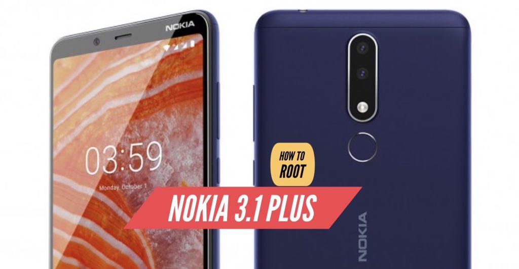 Root Nokia 3.1 Plus SuperSU Magisk