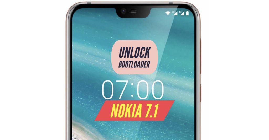 Unlock Bootloader Nokia 7.1