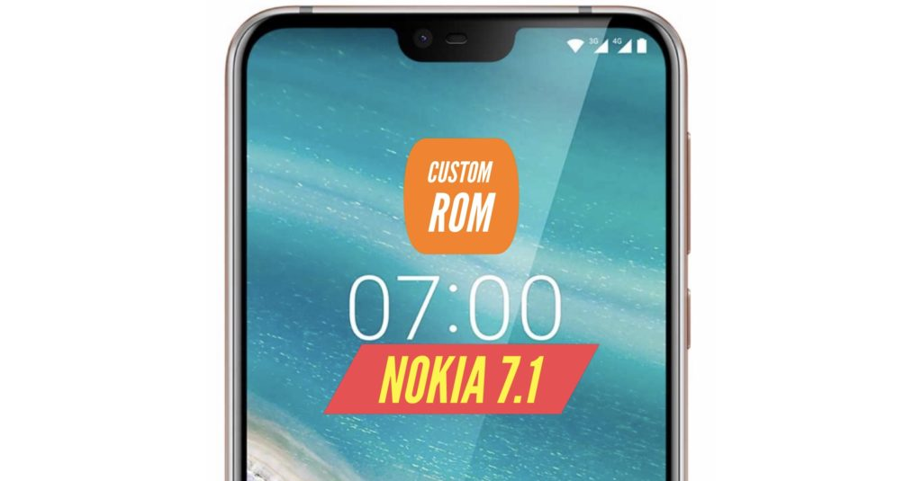 Nokia 7.1 Custom ROM