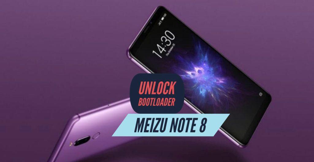 Unlock Bootloader Meizu Note 8