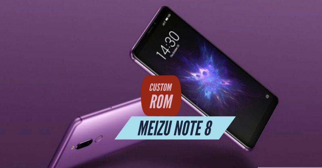 Meizu Note 8 Custom ROM