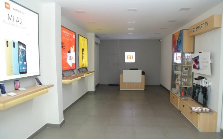 Xiaomi 500 Stores World Record
