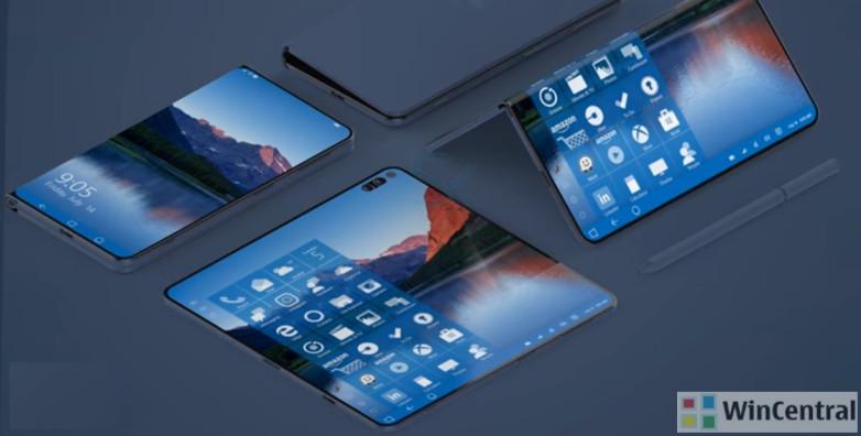 Microsoft Surface Foldable Phone