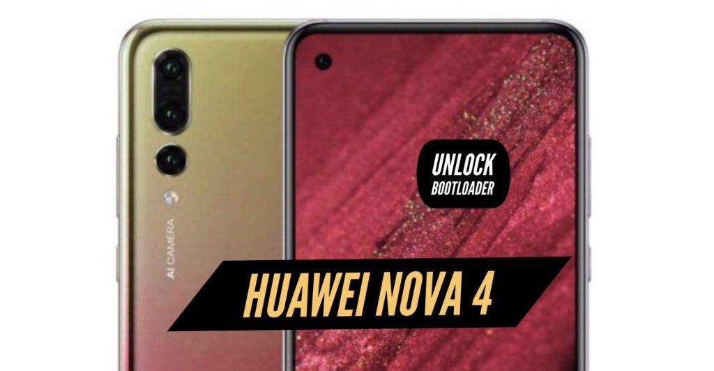 Unlock Bootloader Huawei Nova 4