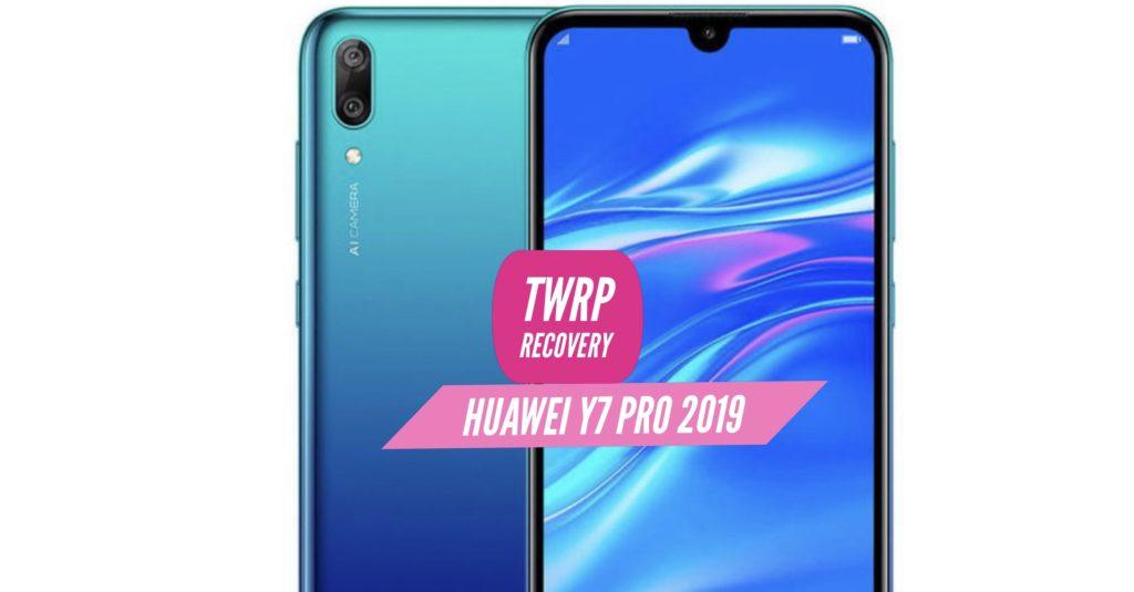 TWRP Huawei Y7 Pro 2019