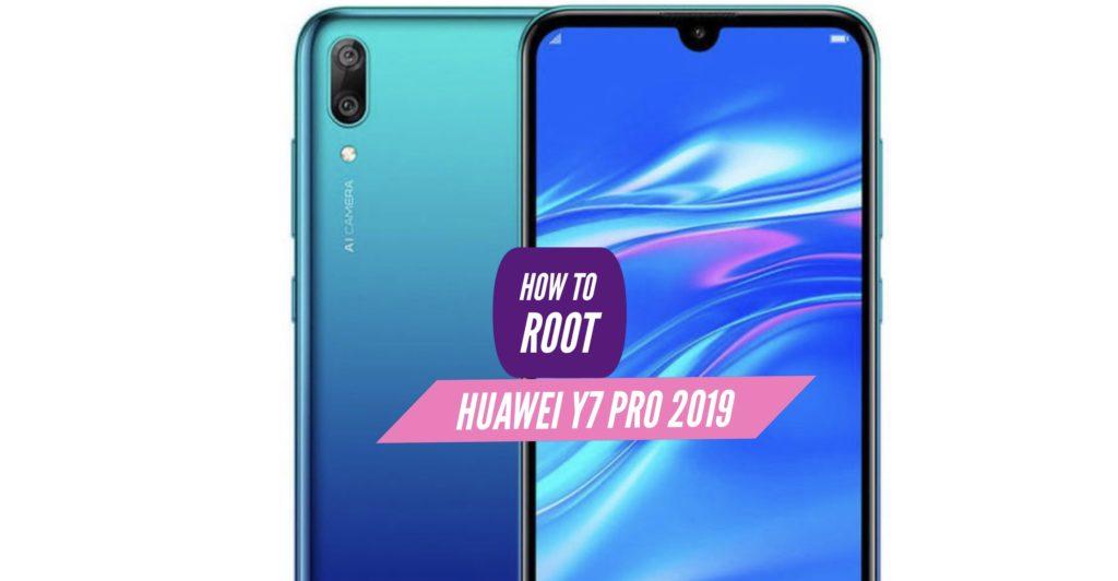 Root Huawei Y7 Pro 2019